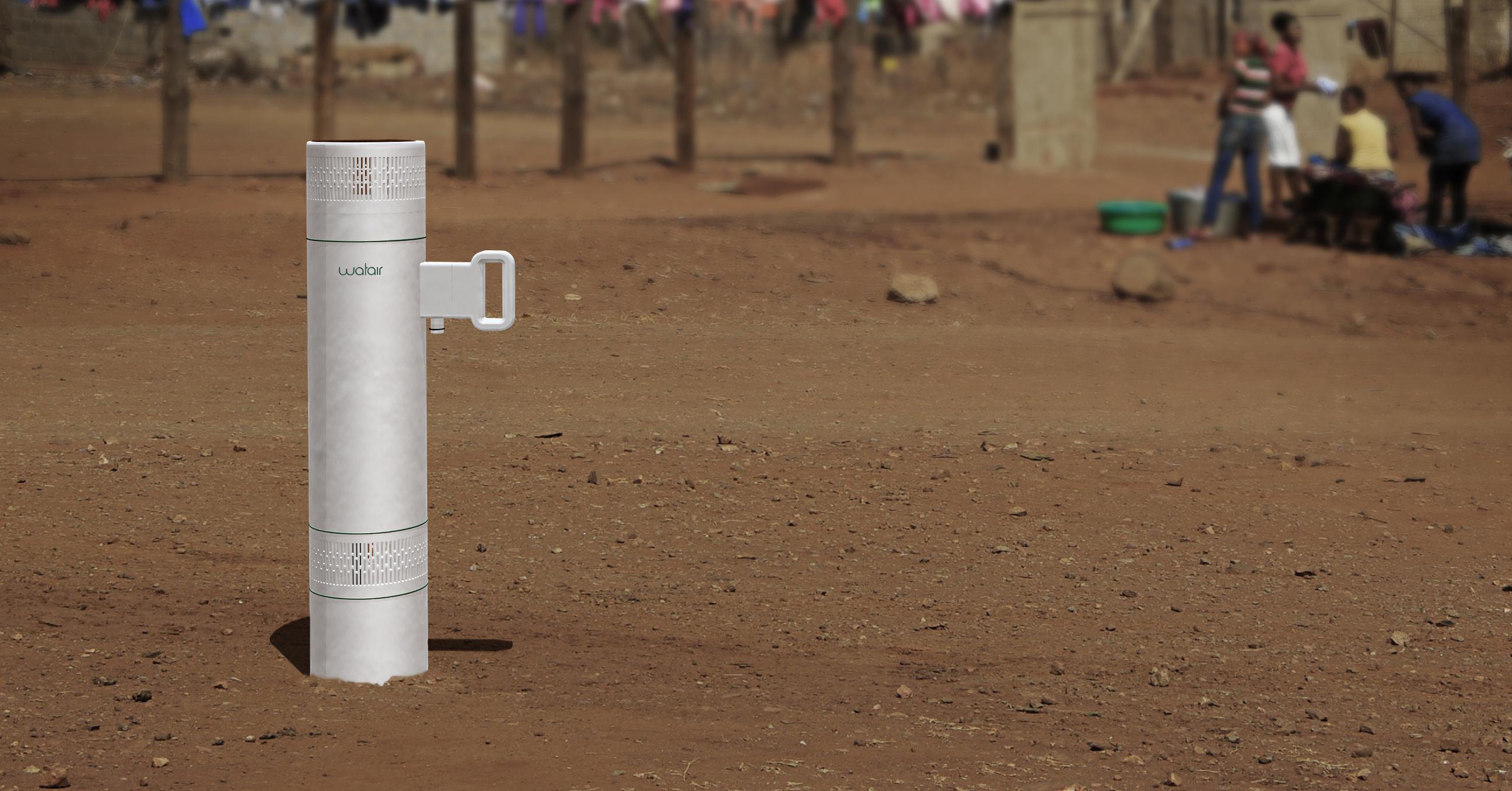 watair / Gerät zur Trinkwassergewinnung aus der Luft mittels Kondensation / Felix Meutzner & Jette Rienow
