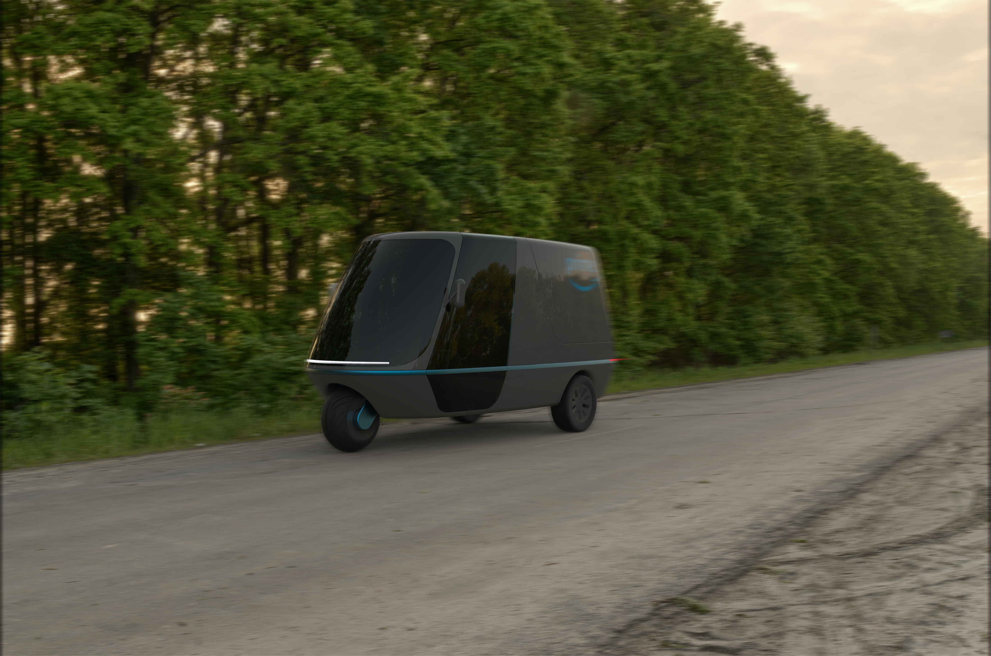 Kleintransporter | Electric Van Concept