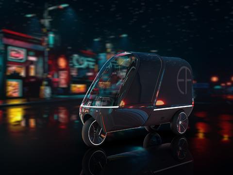 Cargo-Dreirad / Doulin Zhang