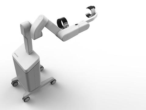 Exoskelett für die Rehabilitation des Oberkörpers nach einem Schlaganfall / Xuejun Wang