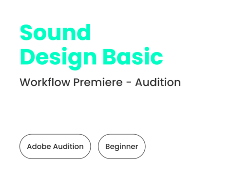 Sound Design mit Adobe Audition